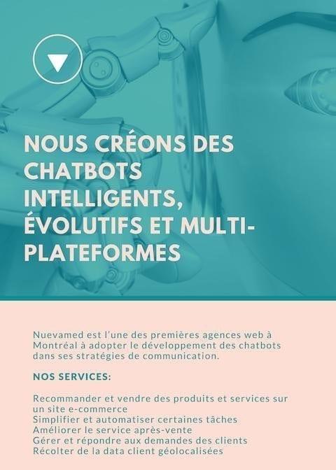 Agence web de création de ChatBots à Montréal