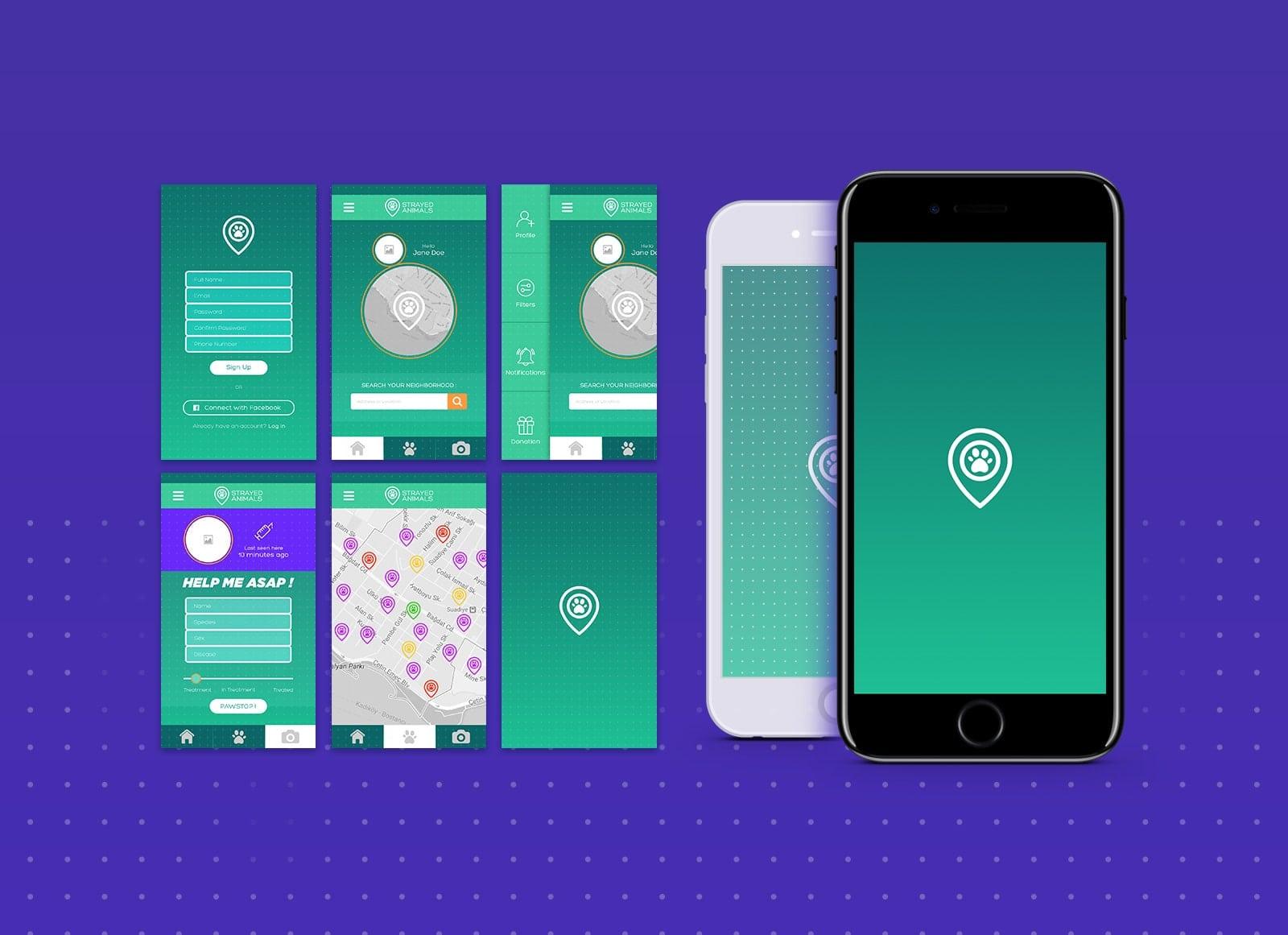 conception app-mobile-nuevamed